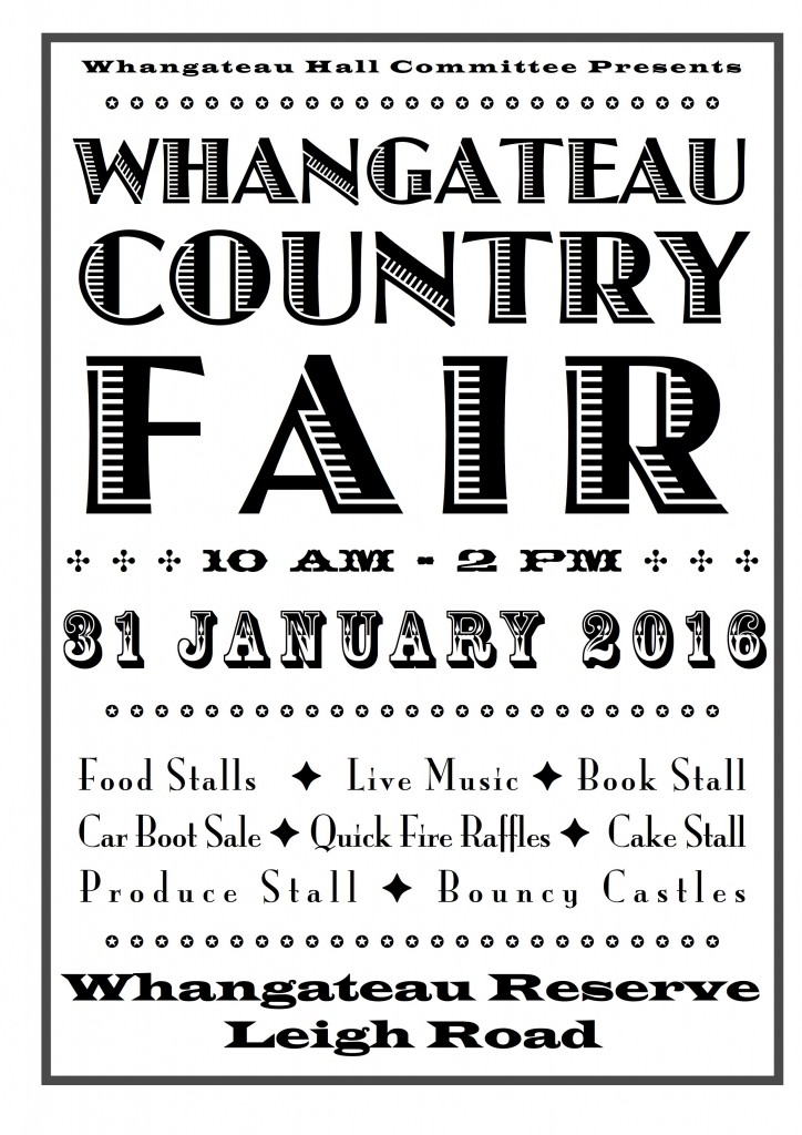 whangateau country fair 2016