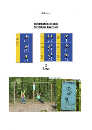 Fitness Trail Stations 1-2