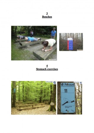 Fitness Trail Stations 3-4
