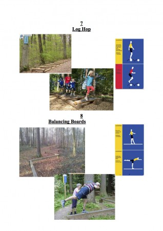 Fitness Trail Stations 7-8